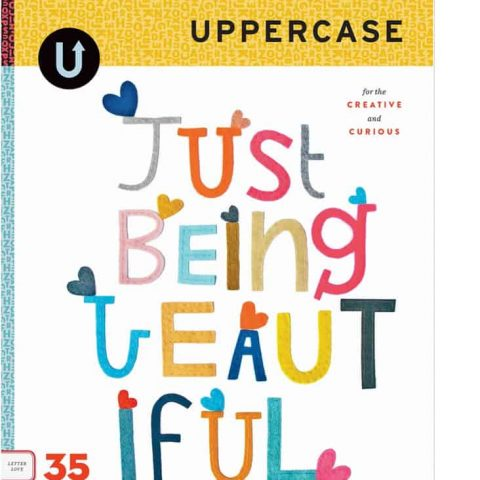 UPPERCASE Issue 35 Cover 'Just Being Beautiful'