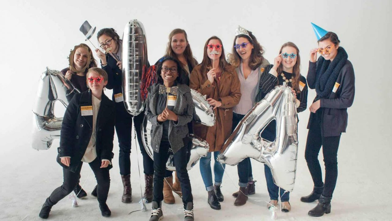 Graphic Design Students Participate in AIGA Atlanta Student Pinup