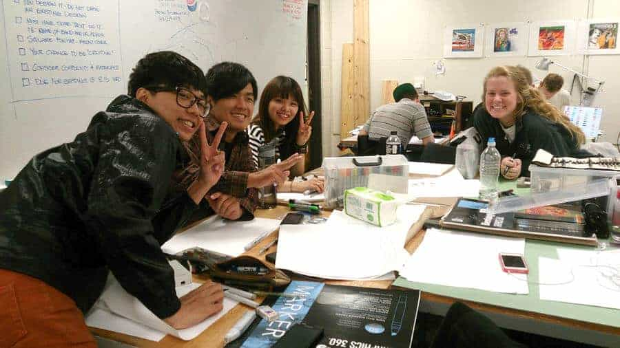 Industrial Design Welcomes Students from Shu-Te University