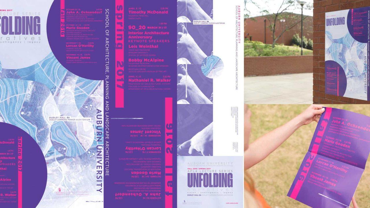 Architecture Lecture Series Poster Wins Graphic Design USA Inhouse Design Award