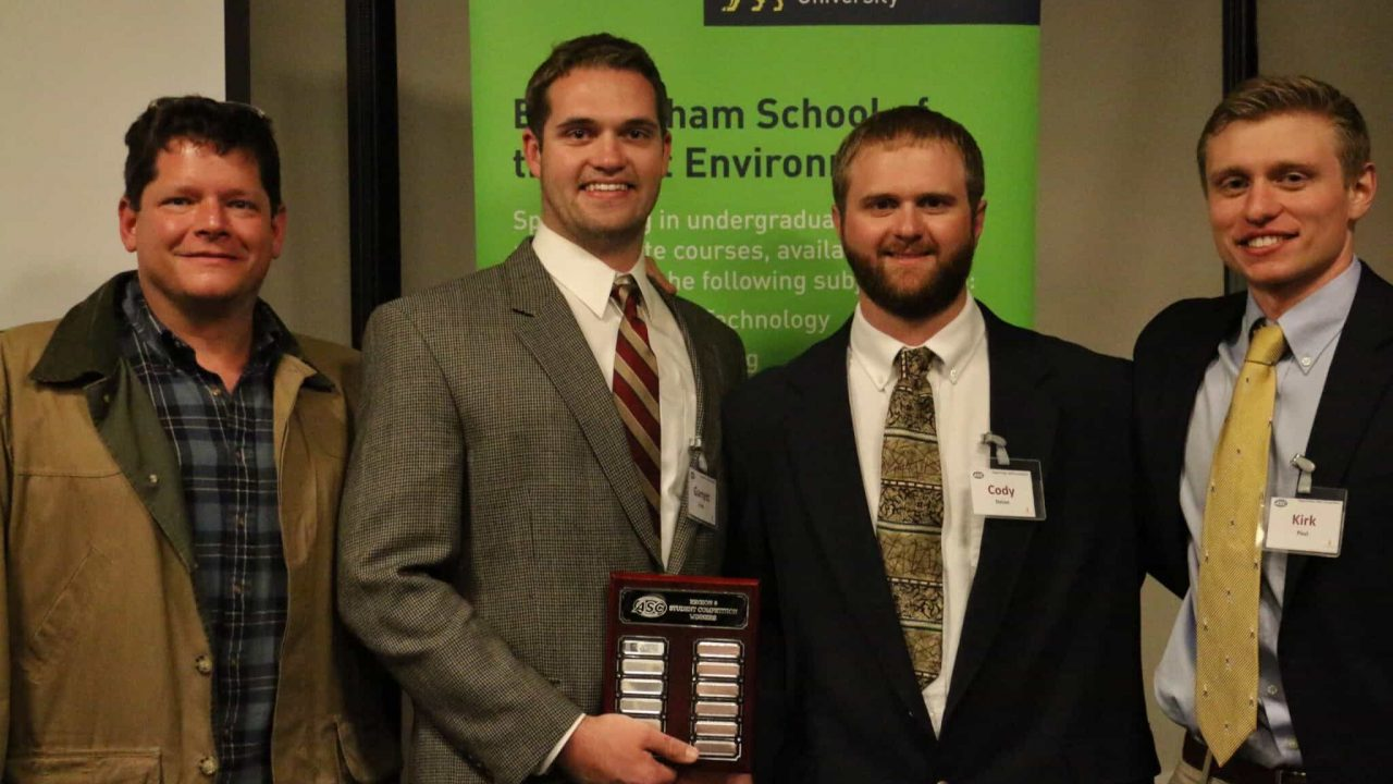 Building Science Students Take Top Prize in International Competition
