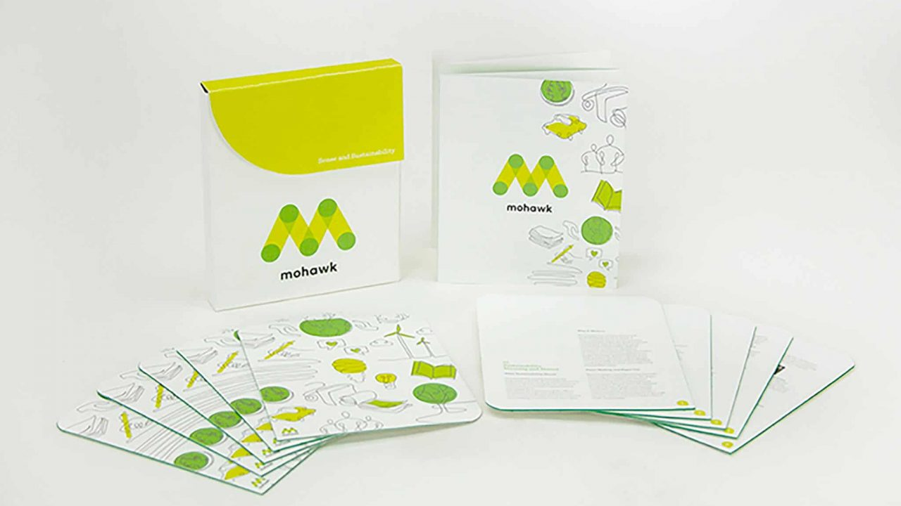 Graphic Design Students learn sustainable design practices through re-branding assignment