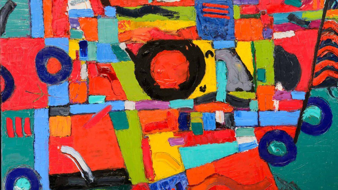 Robinson's Painting on Exhibit at Telfair Peet Theatre