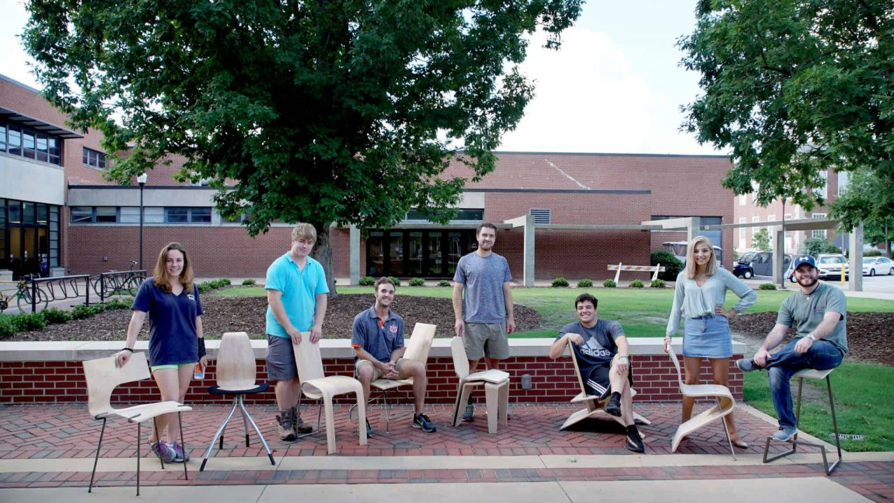Industrial Design Students Recreate Chair Project from 1976