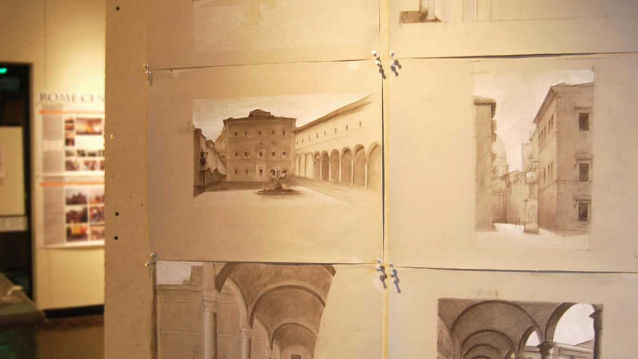 To Draw is To See: Drawings from Rome