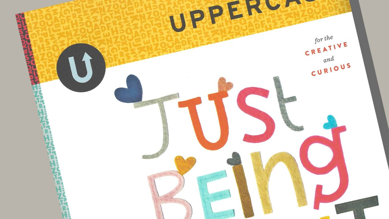 Bryant's Work Featured in UPPERCASE