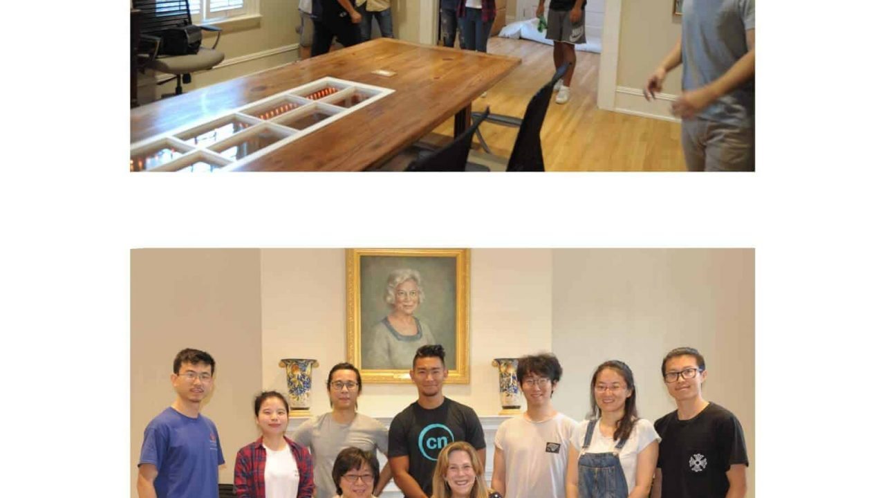 Industrial Design Students Design and Build a Conference Table for Cater Hall