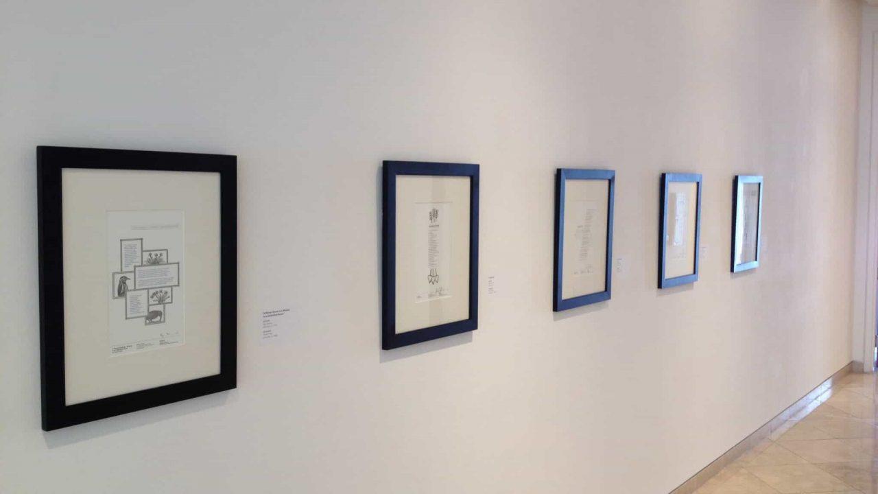 Graphic Design Team's Letterpress Poetry Broadsides Receive UCDA Silver Award