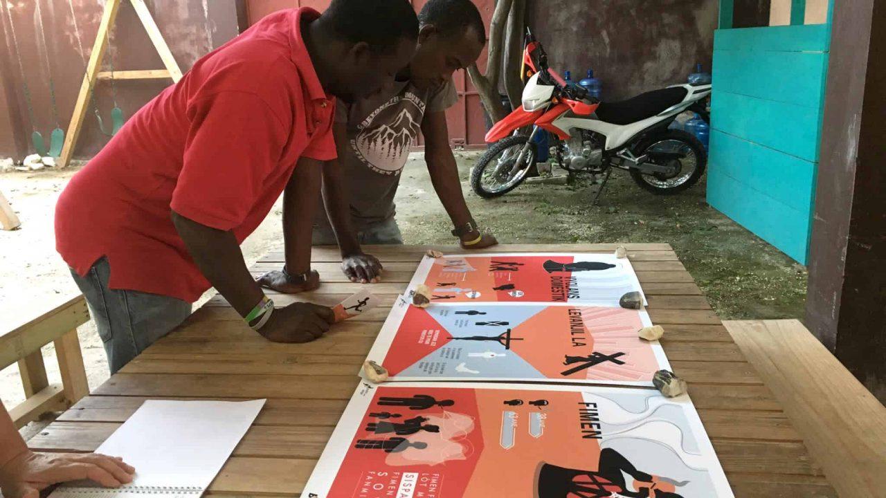 Graphic Design for Healthcare in Haiti