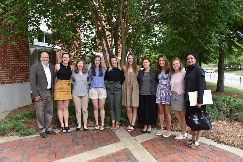 Tau Sigma Delta Honor Society Legacy Continues at the CADC