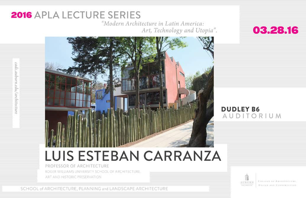 Spring Lecture Series Welcomes Luis E. Carranza