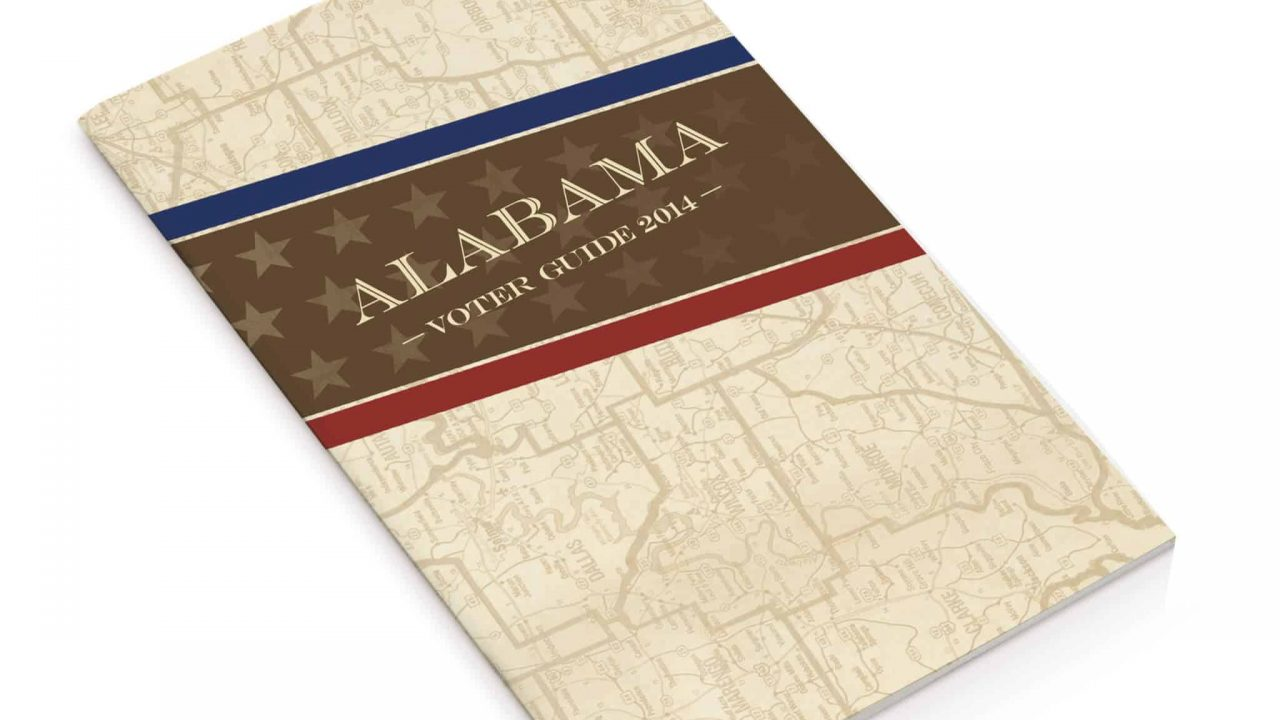 Graphic Design Students Create Alabama Voter Guide Covers