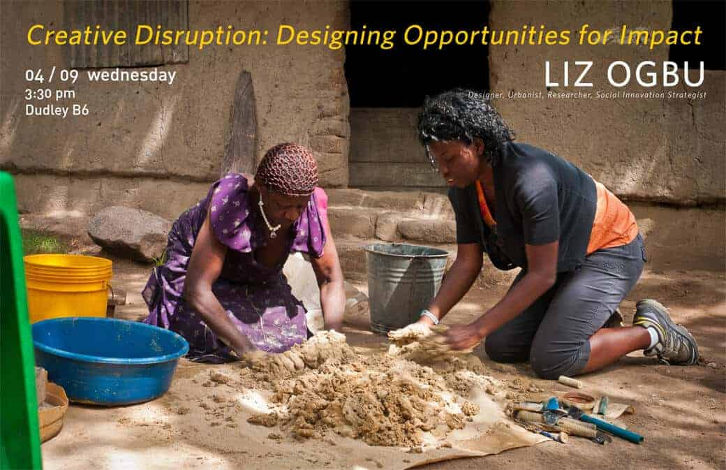 APLA Spring Lecture Series Finale: Liz Ogbu