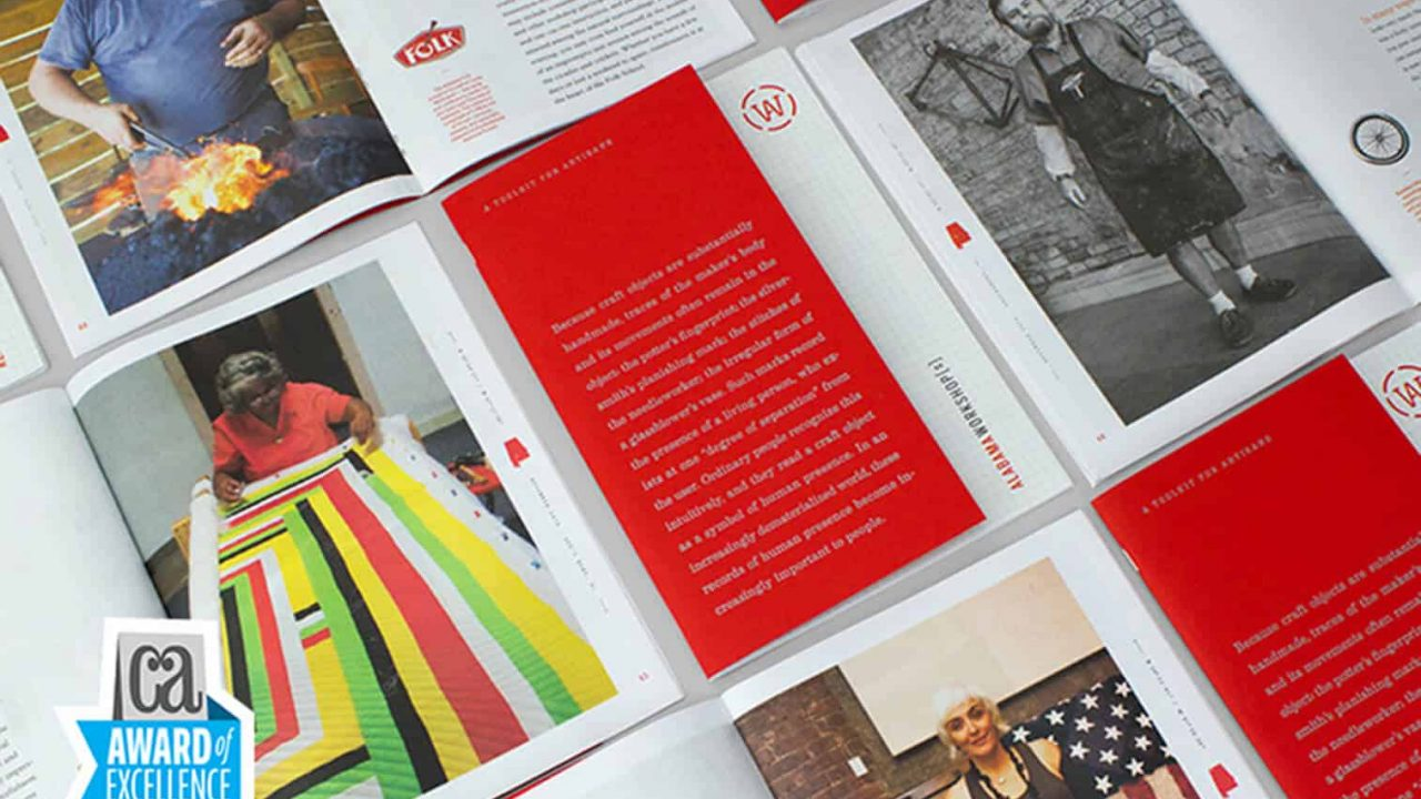 Alabama Workshop[s] Toolkit Selected for Communication Arts Magazine Design Annual