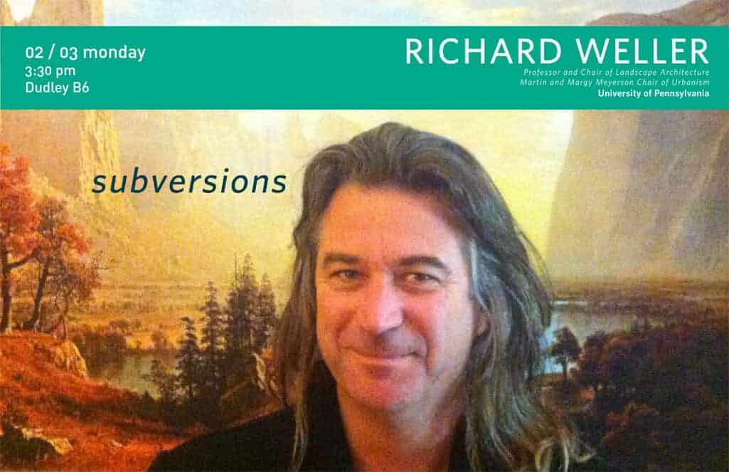 APLA Spring Lecture Series Welcomes Richard Weller