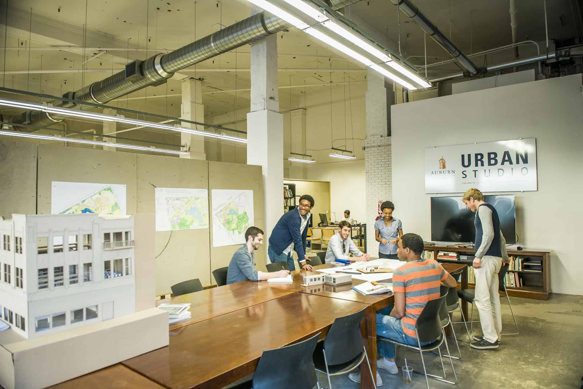 degree in architecture and interior design
