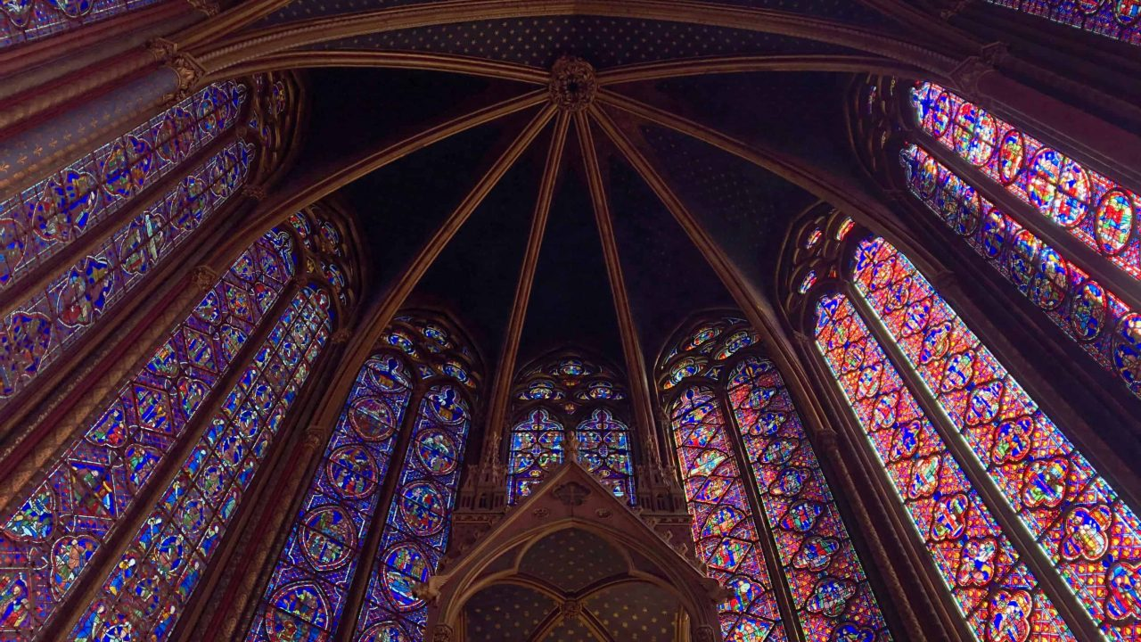 Saint Chapelle chapel in Paris