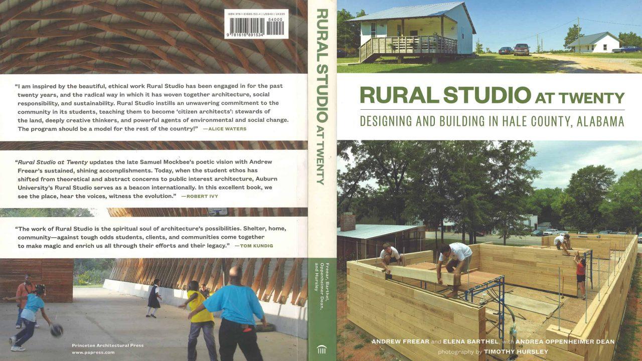 Rural Studio at Twenty book cover