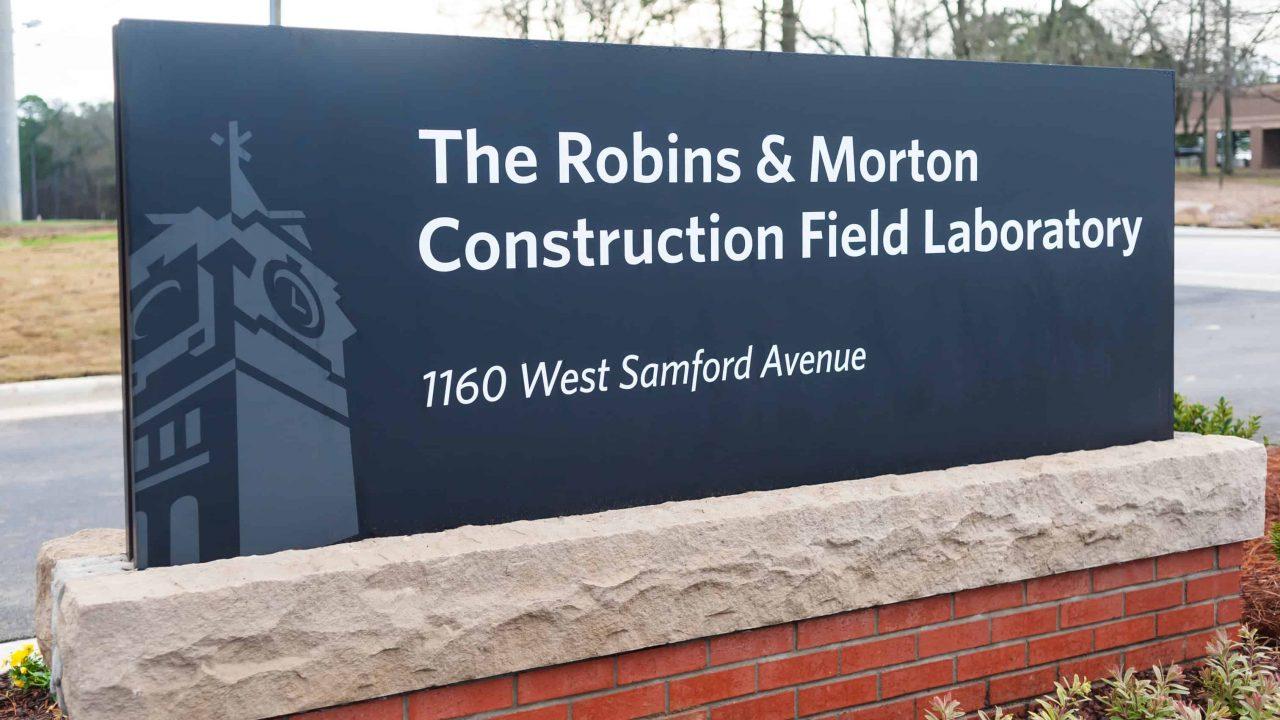 BSCI Field Lab Sign