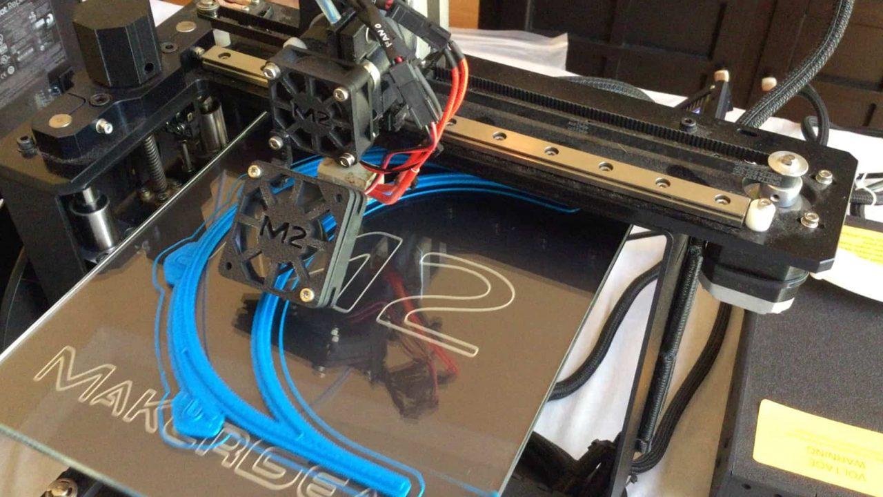 3D printer creating face mask