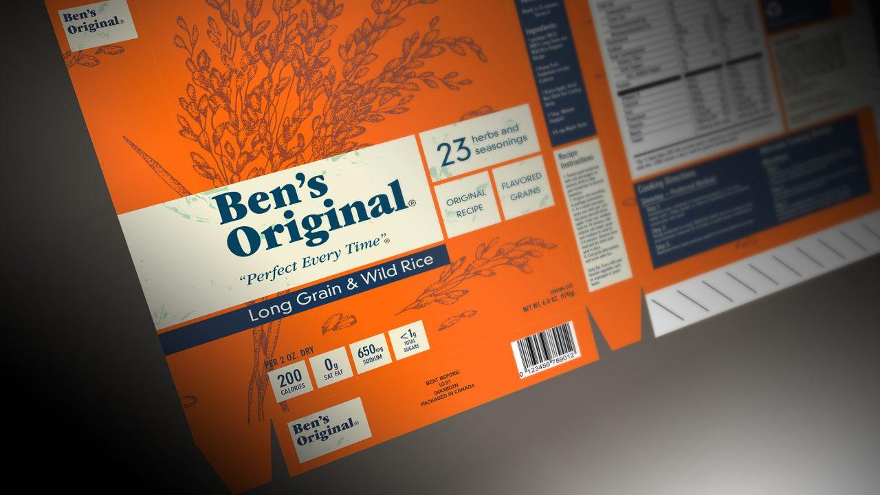 Ben's Original by GDES student Grace Gordon