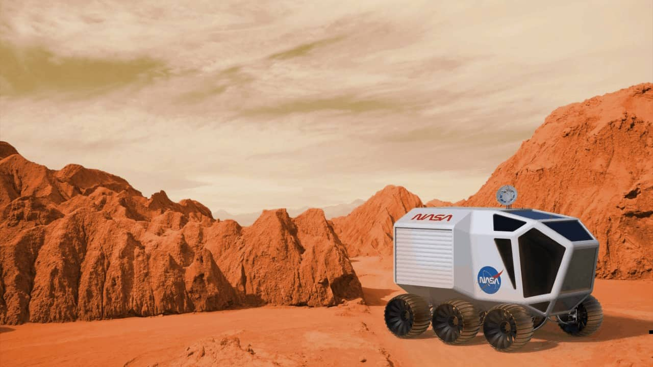 Mars Pressurized Rover