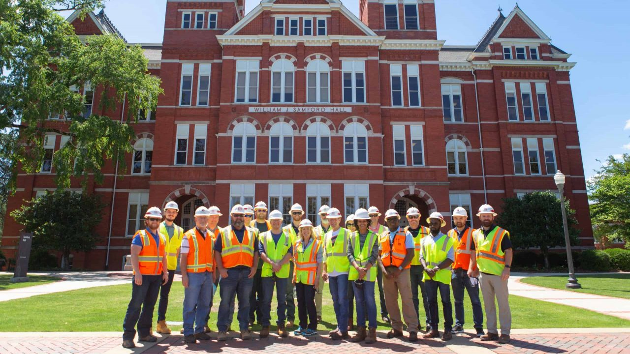 Executive Programs students visit Samford Hall