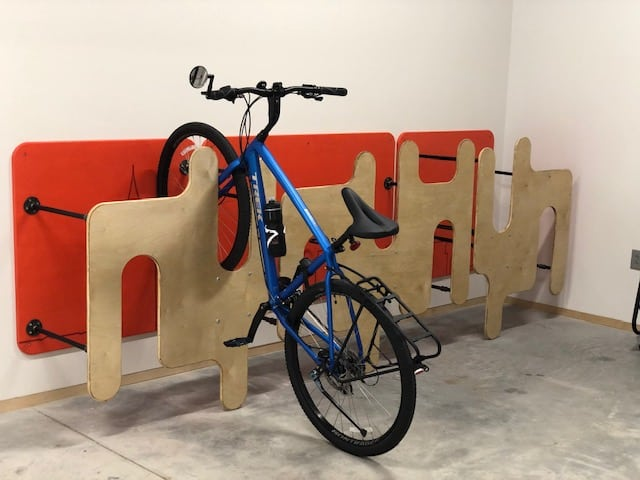 Bike Rack at Innovation Portal