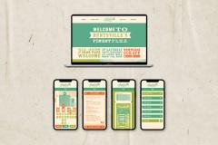 Huntsville Flea Market Website and App by Anna Porter