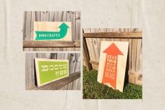 Huntsville Flea Market Signage by Anna Porter