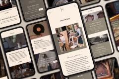 Caitlyn Martin: Heirloom Mobile Website