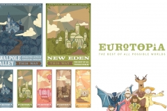 Carson Earls: Carson Earls Eurotopia Logo, Land Posters, Tickets.