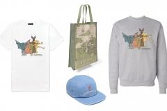 Carson Earls: Eurotopia Merchandise