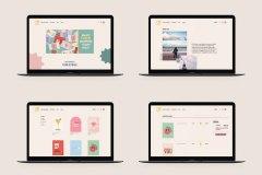 Oh My Days Web Design by Christina Ragland