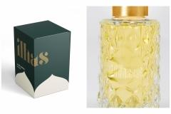 Emily Covington: Ilhas Parfumerie Box and Bottle Packaging