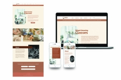 Kirk's Cupboard Website Design