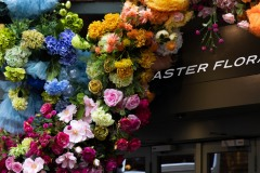 Aster Floral Outdoor Signage by Emily Ernest
