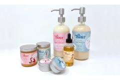 Greer Miceli: Twist Curl Salon Packaging