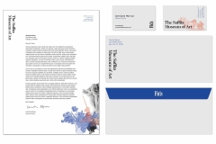 Katelyn Reynolds: Fitz Museum stationery suite