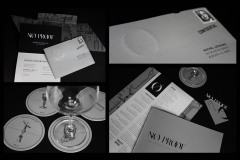 No Proof Envelope, Invitation, Coasters, Business Cards, and Menu