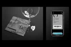 No Proof Wine glass, Napkin, and E-Membership Card