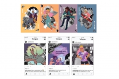 Manie Vanagdora: Postcards and Instagram posts