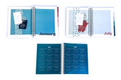 Marti Duke: Square Paper Co. Internal Planner Pages