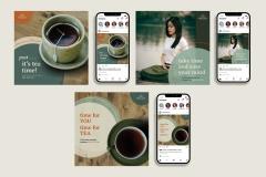 White Lotus Social Media Advertisements
