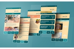 Michelle Mayhall: BEELINE App Screens