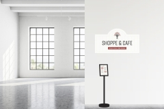 Morgan Williamson: Sage Hill Orchard Shoppe & Cafe Signage