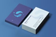 Sarah Stephens: Sherwood Aquarium Business Cards