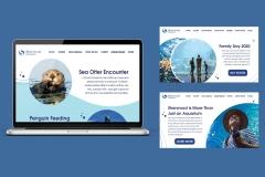 Sarah Stephens: Sherwood Aquarium Website Screens
