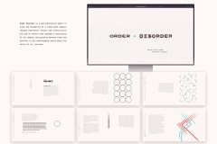 Order Disorder Web Publication by Jake Martin