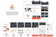 AEOLUS App Design by Jake Martin, Bailey Matthews, and Gurden Smith